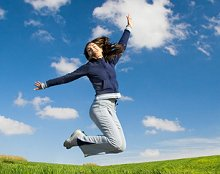 About Reflexology & FAQs. Library Image: Jump for Joy